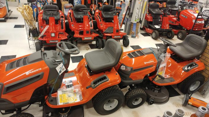 Husqvarna & Snapper Lawnmowers